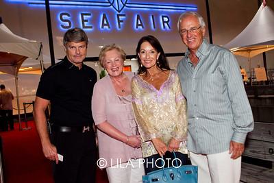 John Reiser, Christel Dehaan, Kathy & Sidney Taurel