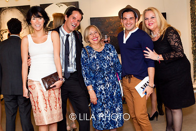 Carol Adrianza , Jesus Rojas, Sonia Siesholtz with MOCA, Gerardo Gomez Galvez, Carrie Fernandez