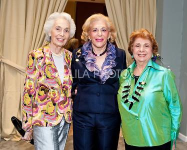 L-R: Eleanor Shaw, Sydell Miller, Joyce Pomeroyschwartz