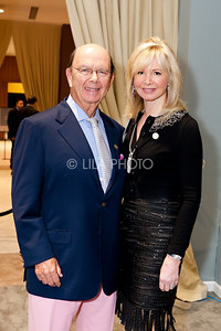 Wilbur Ross and Hilary Geary Ross