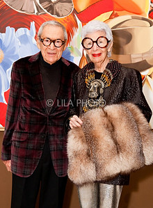 Carl and Iris Apfel