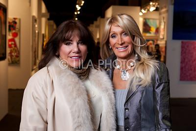 L-R: Elaine Byers, Ann Zobel