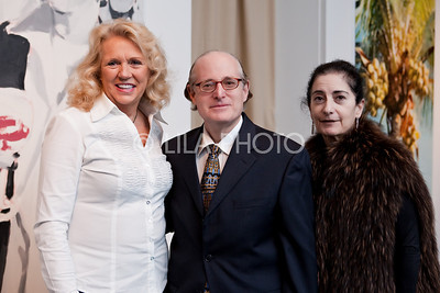 L-R: Min Wells, Manuel Levin, Margaret LaManna