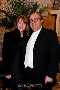 Diane Salandra and David Timsit with Graff Jewelry