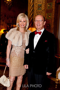 Hilary and Wilbur Ross