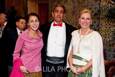 Mariel, Marwan, and Laura Moheyeldien