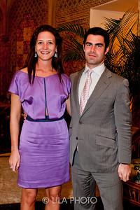 Ines de Seroux and Thierry Betancourt
