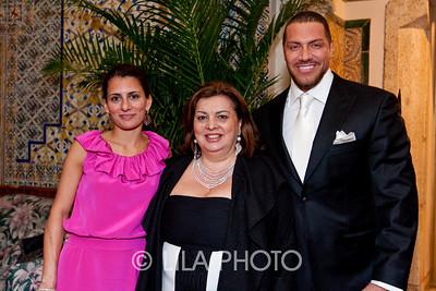 Rafaela Amini, Dora Amini, Stephen Bastone