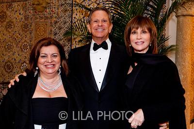Dora Amini, Steven and Carol Landsman