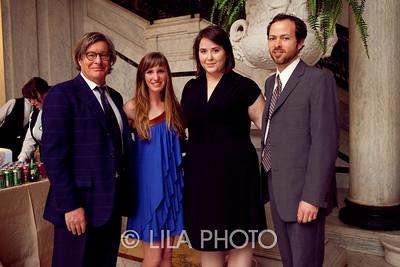 Warren Adelson, daughter Alexa Adelson, Jessi Katz, Chris Blyth