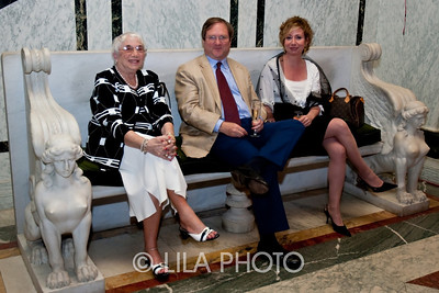 Elsa Cook, left, Hollis Taggart, and Vivian Bullaudy