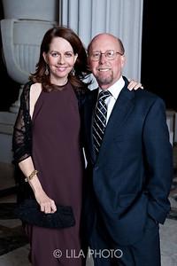 Dr. Eric Smith and Elisa Turner