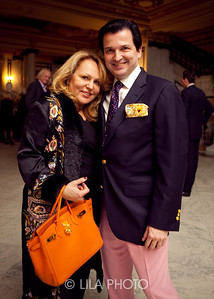 The Baroness de Lacam and Christopher Horn