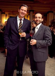 Jorg Paal and Alejandro Zaluskowki with Galerie Thomas