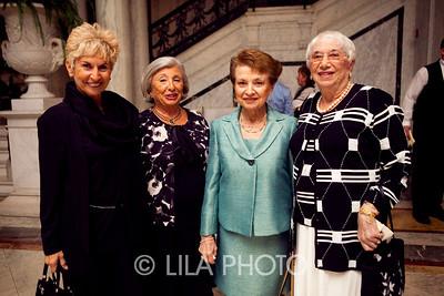 Linda Wartow, Phyllis Verducci, Ursula Peckerman, Elsa Cook