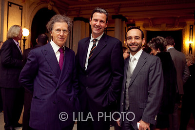 Mr. Raymond Thomas, Jorg Paal, Alejandro Zaluskowki with Galerie Thomas