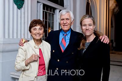 Estelle and Karlin Martin, left, and Jennifer Coolidge