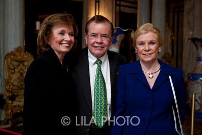 Charlyne and Jim Smith, left, and Joan Korostoff
