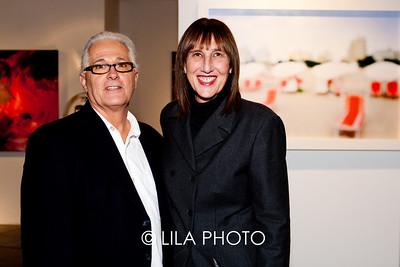 Gary Antonio, Cheryl Maeder (Cheryl's artwork behind, image used for show marketing pieces)