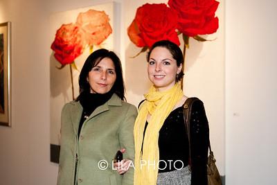 L-R: Lydia Bolderson, Anna Visnitskaya