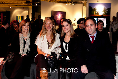 L-R: Maricela Quintas, Marivy Quintas, Patricia Erdman, Moncy Blanco-Herrera