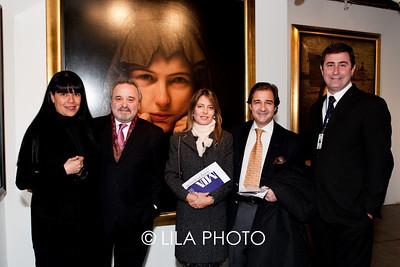 L-R: Mayra Nakatani, Alfredo Ginocchio, Rita Zaia, Alejandro Zaia, Gonzalo Vidal