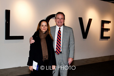 Rina Carvajal (Curator @ Miami Art Museum), Glenn Ekey (Miami Art Museum)