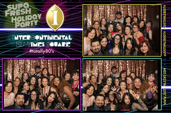 Intercontinental Hotel Times Square 2016 Holiday Party