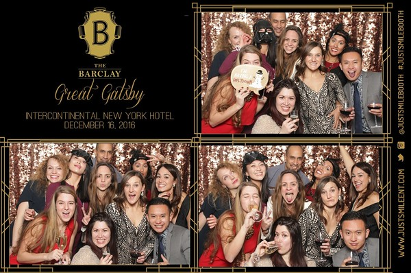 Intercontinental Hotel-The Barclay 2016 Holiday Party