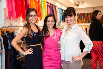 Lauren Driscoll, Lin Calinas, Lena
