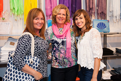Kathy Bryant, Lyn Tate, Hayley Sheldon