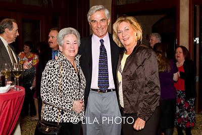 Joan Lebow, Frank and Gail Scarpa