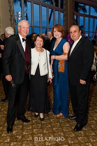 Mr. and Mrs. Brown, Geri & Dr. Bill Romanos