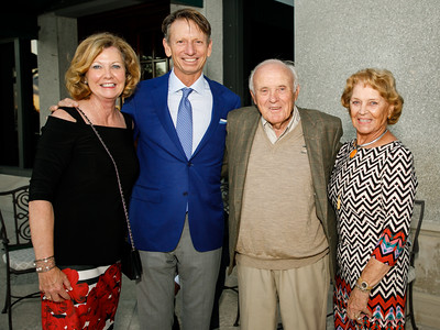 Jayne Donahue, Brad Faxon, Fred and Mary Lou Montanari