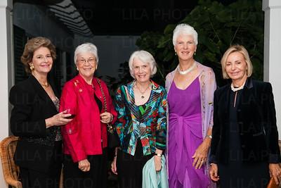 Carol Epstein, Sandy Reiss, Gwyneth Selinger, Millie McCoy, Arlette Rigby
