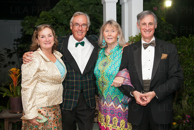 Judy & Peter Just, Barbara & Paul Duvivier