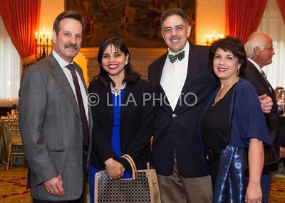 Richard Shwarz, Sandy & Lou Balwan, Frances Santiago - Schwarz