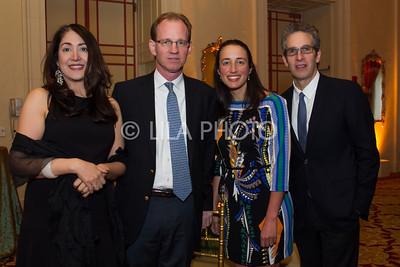 Dr. Lata & Dr. Thomas McGinn, Lauren Bock, Louis Potters