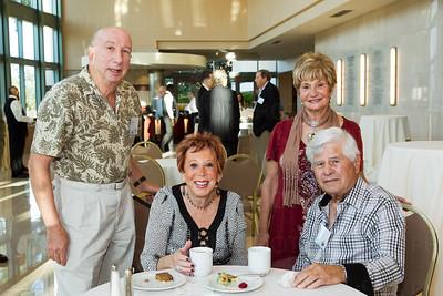 Harold Nash, Adele & Arnie Krassner, Edith Nash