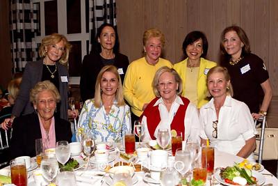 (standing) Bonnie Gregge, Chris Ingalls, Judith Levy, Penny Blumenstein , Judy Ganek, (sitting) Lucy Kay, Bonnie Feinberg, Maddie Forbes, Susan Weingeroff of Palm Beach Gardens