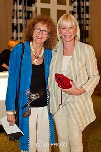 Diane Crane (on right)