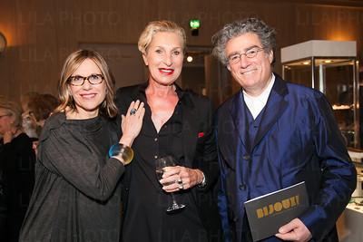 Nancy Olnick, Giuliana Michelotti, Giorgio Spanu