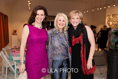 Rachel Portnoy Goldfarb, Donna Schneier, Fern Portnoy
