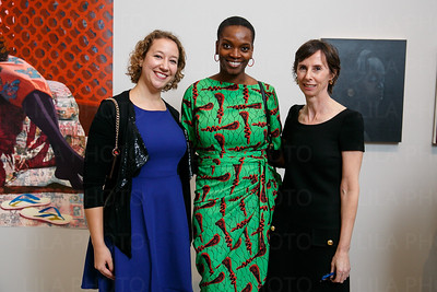 Kristen Rudy, Njideka, Cheryl Brutvan