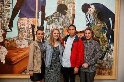 Victoria Morejon, Sophia Hullinger, Christien Vargas, and Tyler Brunner