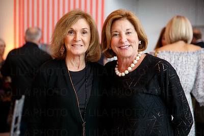 L to R:  Florence Goodman and Gail Hano
