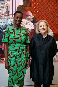 Njideka and Hope Alswang