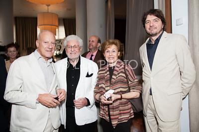 Lord Foster, Ralph & Muriel Saltzman, Michael Wurzel