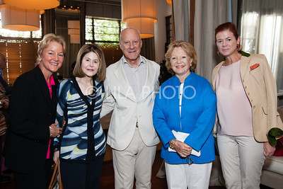 Edith Stickney, Jean Sharf, Lord Foster, Joey Pearson, Lady Foster