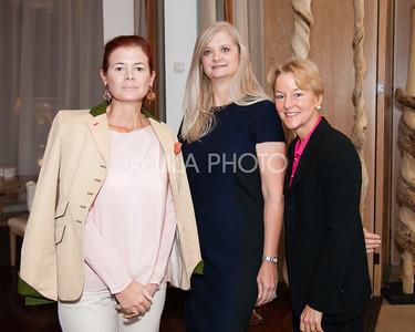 Lady Foster, Janine Mayville, Edith Stickney